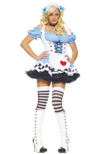 Leg Avenue Miss Wonderland Kostüm 2-teilig, 1 Stück