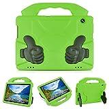 KATUMO Kinder Hülle für Huawei MediaPad T5 (10,1) Zoll, stoßfeste Eva Hochleistungs-Schutzhülle mit leichtem Handgriff für Huawei MediaPad T5 10 Tablet,Grün