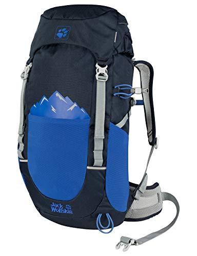 Jack Wolfskin Pioneer Lot de 22 sacs à dos unisexe pour enfant Taille unique bleu nuit