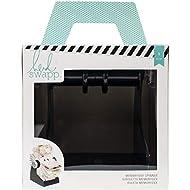 Heidi Swapp 369382 Tool Memory Decks-Desktop Spinner-Black, Purple