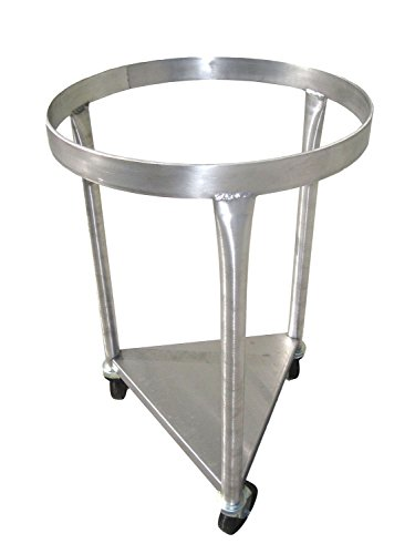Heavy-Duty All-Stainless-Steel Mobile Dolly Stand Only for 80-Quart Vollrath Mixing Bowl 79800