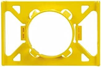 Panduit MSG-1.3-C Metal Stud Grommet, 1-11/32-Inch Hole (100-Pack)
