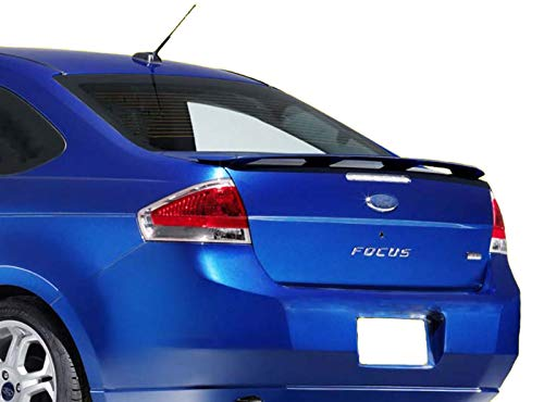 Accent Spoilers - Spoiler for a Ford Focus Factory Style Spoiler-Red Candy Tricoat Paint Code: U6