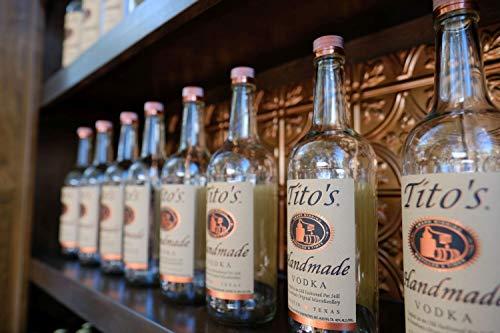 Tito´s Handmade Vodka 40% vol., 6-fach destilierter Wodka aus 100% Mais, Vodkamarke Nr. 1 in den USA (1 x 0.7 l) - 10