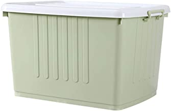 80L 80 liter extra grote plastic bewaardoos sterke stapelbare container finishing box met deksel kleding opbergbox quilt-b...