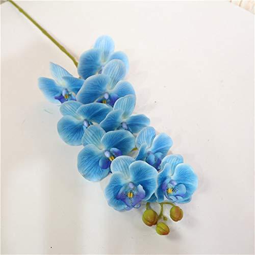 HYLZW Kunstbloem potplant bruiloftsbloemen Real Touch 100 cm grote Phalaenopsis kunstmatige bloemen decoratie vervalste planten
