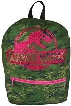 "Jurassic World 8"" Kids' Mini Backpack - Camouflage & Pink"