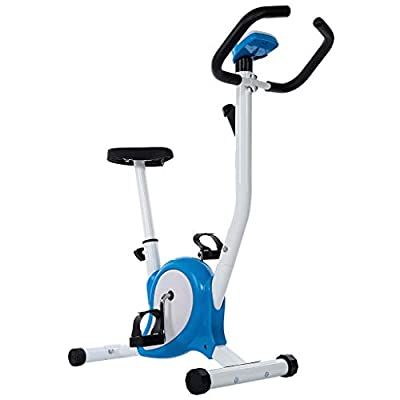 Cardio Training Exercise Bikes Stationary 243 Lbs Weight Capacity- Indoor Exercise Bike Sport Bicycle Fitness Equipment Home Workout Gym