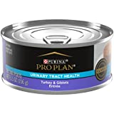 Purina Pro Plan 16901 Urinary Tract Health Pate Wet Cat Food, FOCUS Urinary Tract Health Formula Turkey & Giblets Entree - (24) 5.5 oz. Cans