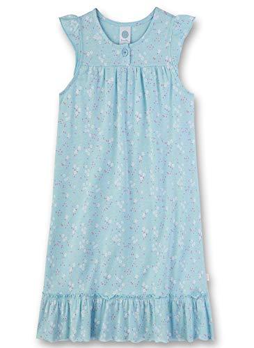 Sanetta Mädchen Sleepshirt Nachthemd, Blau (blau 5632), (Herstellergröße:128)