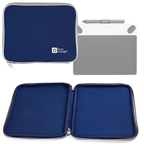 DURAGADGET Funda Protectora Azul para Tableta Gráfica Wacom CTL-490DW-S Intuos - Neopreno Resistente Al Agua!