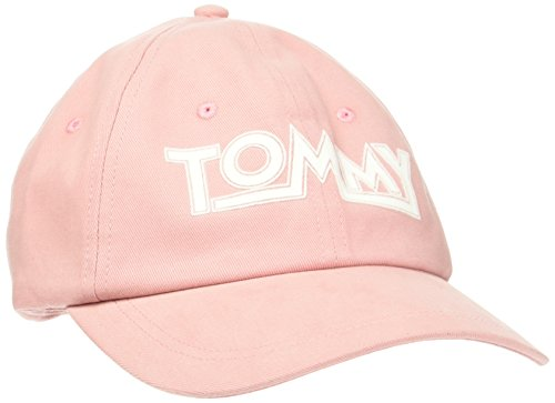 Tommy Hilfiger Damen THD Soft Baseball Cap, Orange (Confetti 630), One Size
