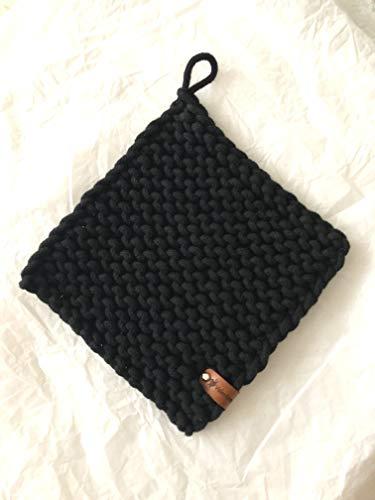 handmade Topflappen gestrickt Set