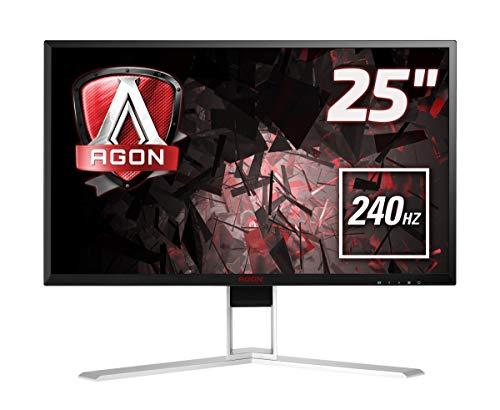 AOC Monitor AGON AG251FZ - 25  Full HD, 240Hz, 1ms, TN, FreeSync Premium, 1920x1080, 400 cd m, D-SUB, DVI, HDMI 2x2.0, Displayport 1x1.2