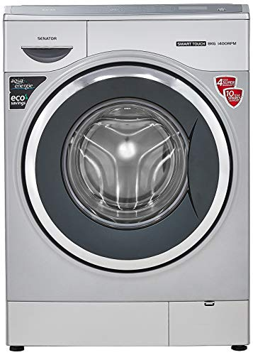 IFB 8 Kg Fully-Automatic Front Loading Washing Machine (Senator Smart Touch SX 1400 RPM, Silver, Inbuilt Heater)