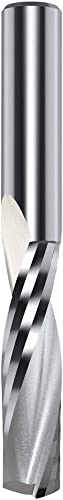 new arrival CMT 191.507.11 Solid Carbide Upcut Spiral Bit, 1/2-Inch Diameter by 4-Inch sale online sale Length, 1/2-Inch Shank,Silver outlet online sale