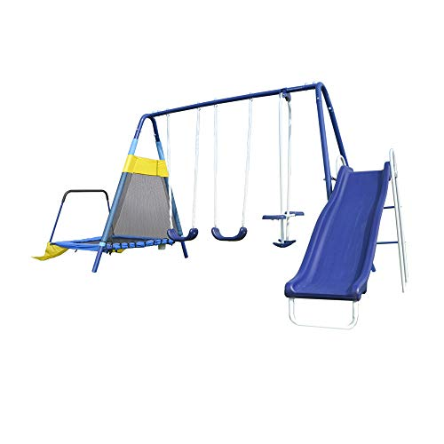 Sportspower Rosemead Metal Swing and Slide...
