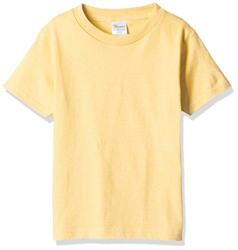 プリントスター 半袖 5.6オンス へヴィー ウェイト Tシャツ 00085-CVT キッズ ライトイエロー 日本サイズ 130cm