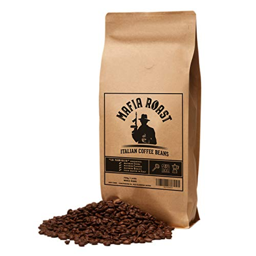 MAFIA ROAST - typisch italienische Kaffeebohnen - traditionell per Hand geröstet - extra cremig - besonders beliebt als Espresso & Cappuccino