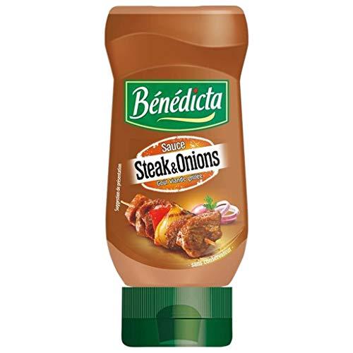 "Benedicta © nA © bã Dicta Sauce Steak & Zwiebeln Goa ""Fleisch vom Grill T © E 245g (6er-Pack)"
