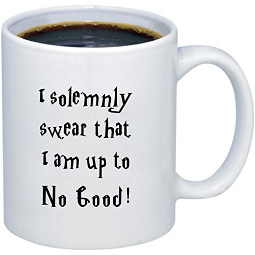 Harry Potter Coffee Mug   I Solemnly Swear That I Am Up to No Good   Harry Potter Gift