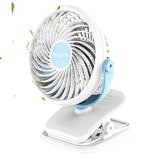 Battery Operated Clip on Fan Mini Desk...