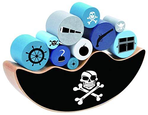 Aquamarine Games Dondolo, Pirate Balance, Multicolore (COMPUDID S.L. CP042)