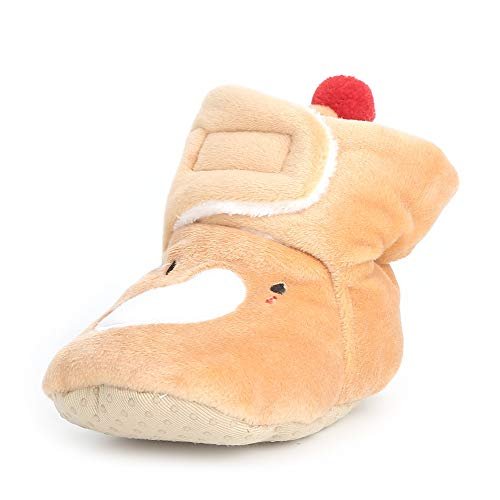 Enteer Infant Snow Boots Premium Soft Sole Anti-Slip Warm Winter Prewalker...