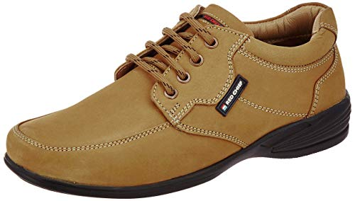 Red Chief Rust Genuine Leather Outdoor Casual Shoe for Men (RC3506 022-6 UK)