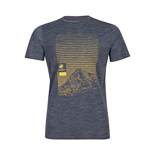 Mammut Herren T-shirt Alnasca- 1017-01770, blau, XL