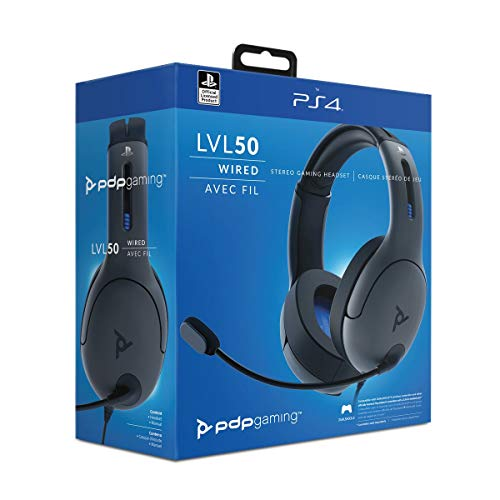 PDP LVL50 Wired Stereo Headset für SONY PS4