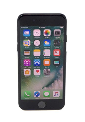 Apple iPhone 7, 128GB, Jet Black - For AT&T (Renewed)