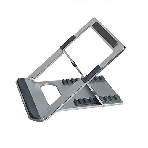 Laptop Stands, Suspended Cooling Rack, Aluminum Alloy Portable High Rack, Multi-Level Adjustment, Universal for Tablet Computer