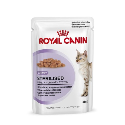 Royal CANIN | Feline Health Nutrition sterilised en salsa | 12 x 85 g