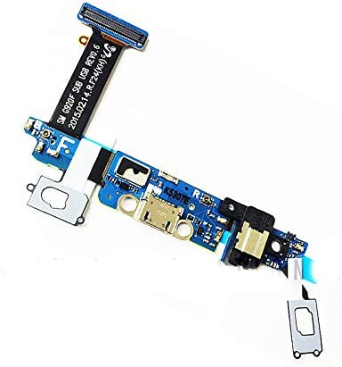 Amazon Com Epartsolution Usb Charger Charging Port Dock Connector Usb Port Mic Flex Cable For Samsung Galaxy S6 Sm G920t V A P F I Replacement Part Usa S6 Sm G920f