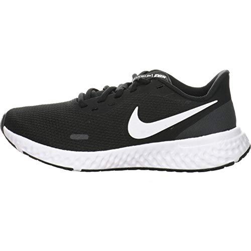 Nike Wmns Revolution 5, Scarpe da Corsa Donna, Black/White-Anthracite, 35.5 EU