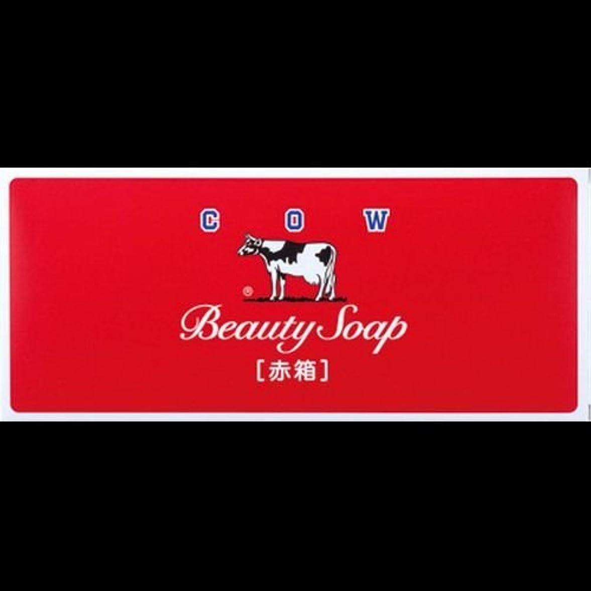 クレーター乱れから聞く【まとめ買い】カウブランド石鹸 赤箱100g*6個 ×2セット