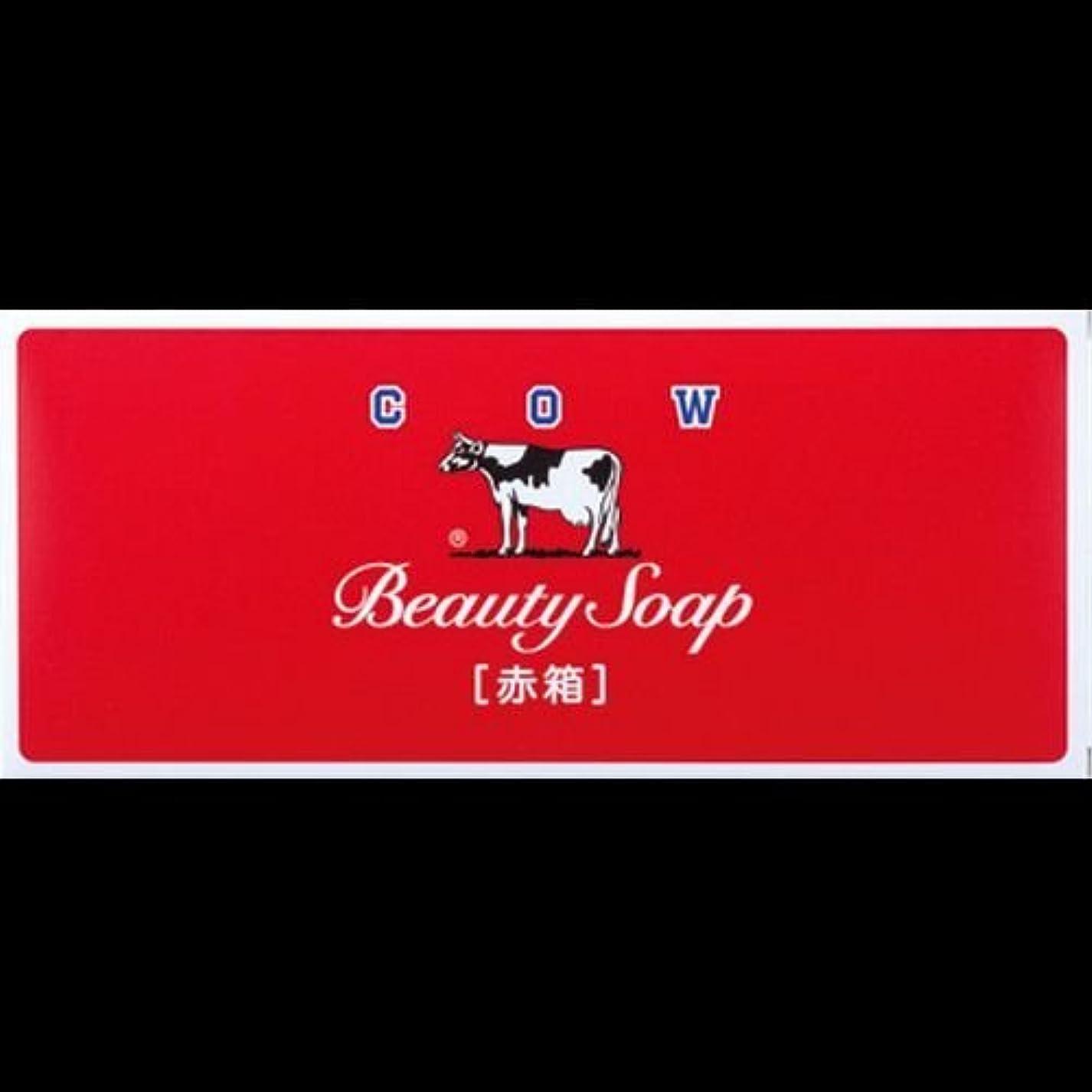 語荒らす判定【まとめ買い】カウブランド石鹸 赤箱100g*6個 ×2セット
