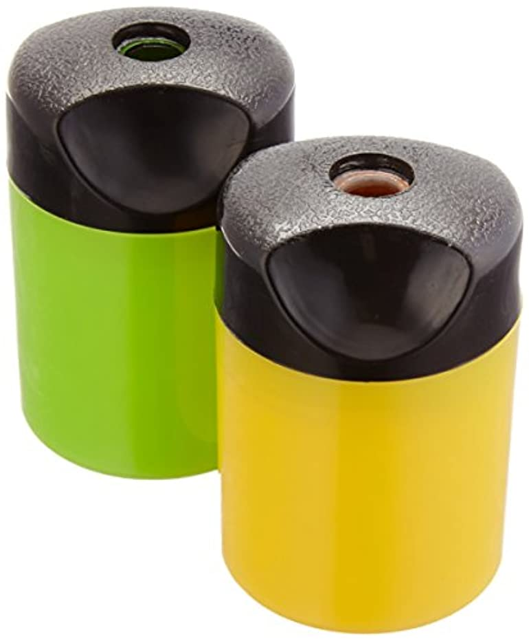 AmazonBasics Compact Manual Pencil Sharpener - 2-Pack