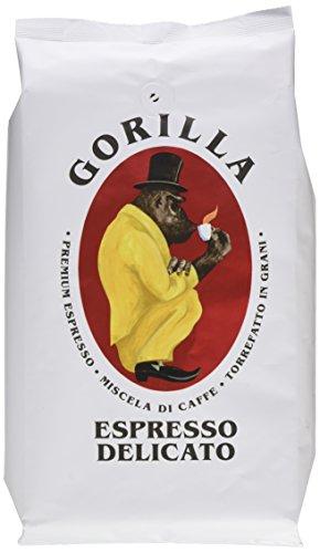 Joerges Gorilla Espresso Delicato, 1er Pack (1 x 1 kg), Weiß