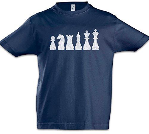 Urban Backwoods Chess II Niños Chicos Kids T-Shirt Azul Talla 12 Años