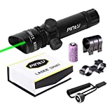 Pinty Green Laser Sight Hunting Rifle Dot Scope Adjustable with Mounts