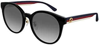 Gucci GG0416SK Round Sunglasses For Women+FREE Complimentary Eyewear Care Kit