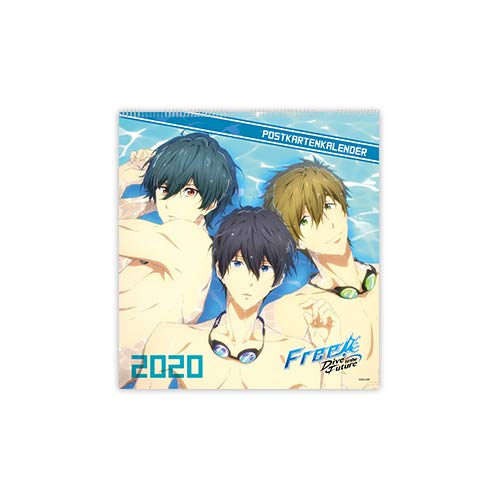 Free! Dive to the Future - Postcard Calendar 2020