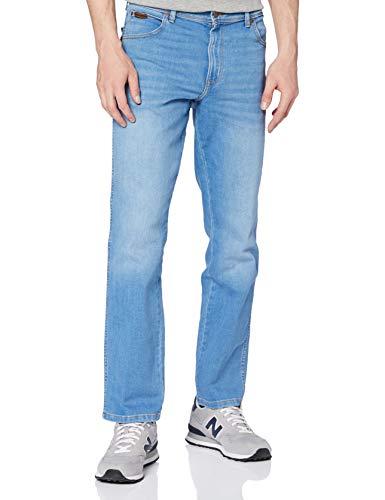 Wrangler Texas Contrast Jeans, Heat Rage, 30W x 32L Uomo