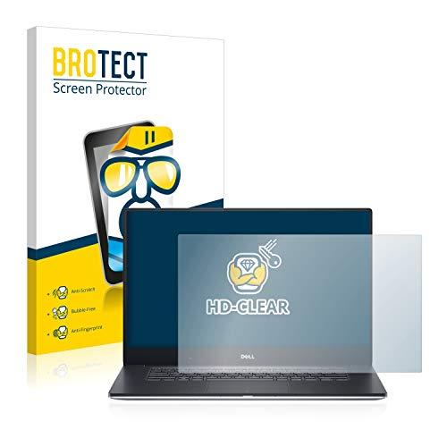 BROTECT Schutzfolie kompatibel mit Dell Precision 5520 HD Non-Touch klare Bildschirmschutz-Folie