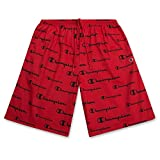 Big and Tall Shorts for Men - Athletic Shorts Loose Fit Performance Shorts Red Black 5X