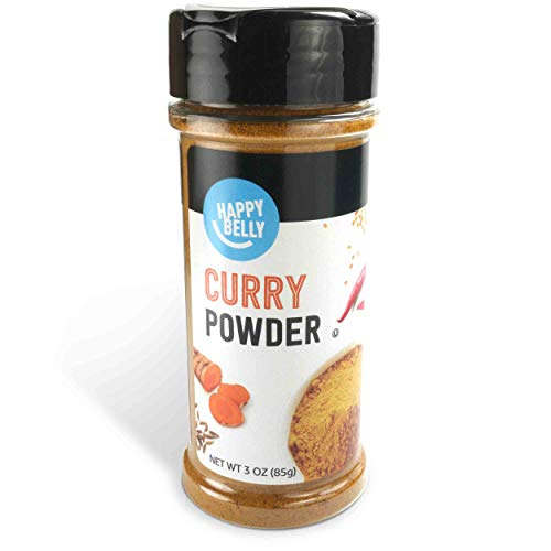 Amazon Brand - Happy Belly Curry Powder, 3 Ounces