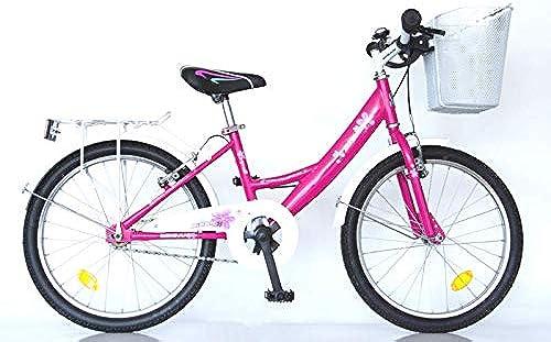 T&Y Trade 20  20 Zoll Kinder fürrad mädchenfürRAD KINDERfürRAD mädchenRAD Kinder Bike Rad 2300 Rosa