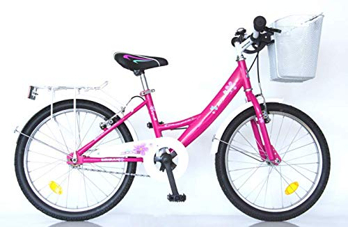 "T&Y Trade 20\"" 20 Zoll Kinder Fahrrad MÄDCHENFAHRRAD KINDERFAHRRAD MÄDCHENRAD Kinder Bike Rad CITYBIKE CITYRAD Beleuchtung 2300 Pink"